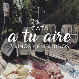CATA A TU AIRE 3 VINOS Y EMBUTIDOS